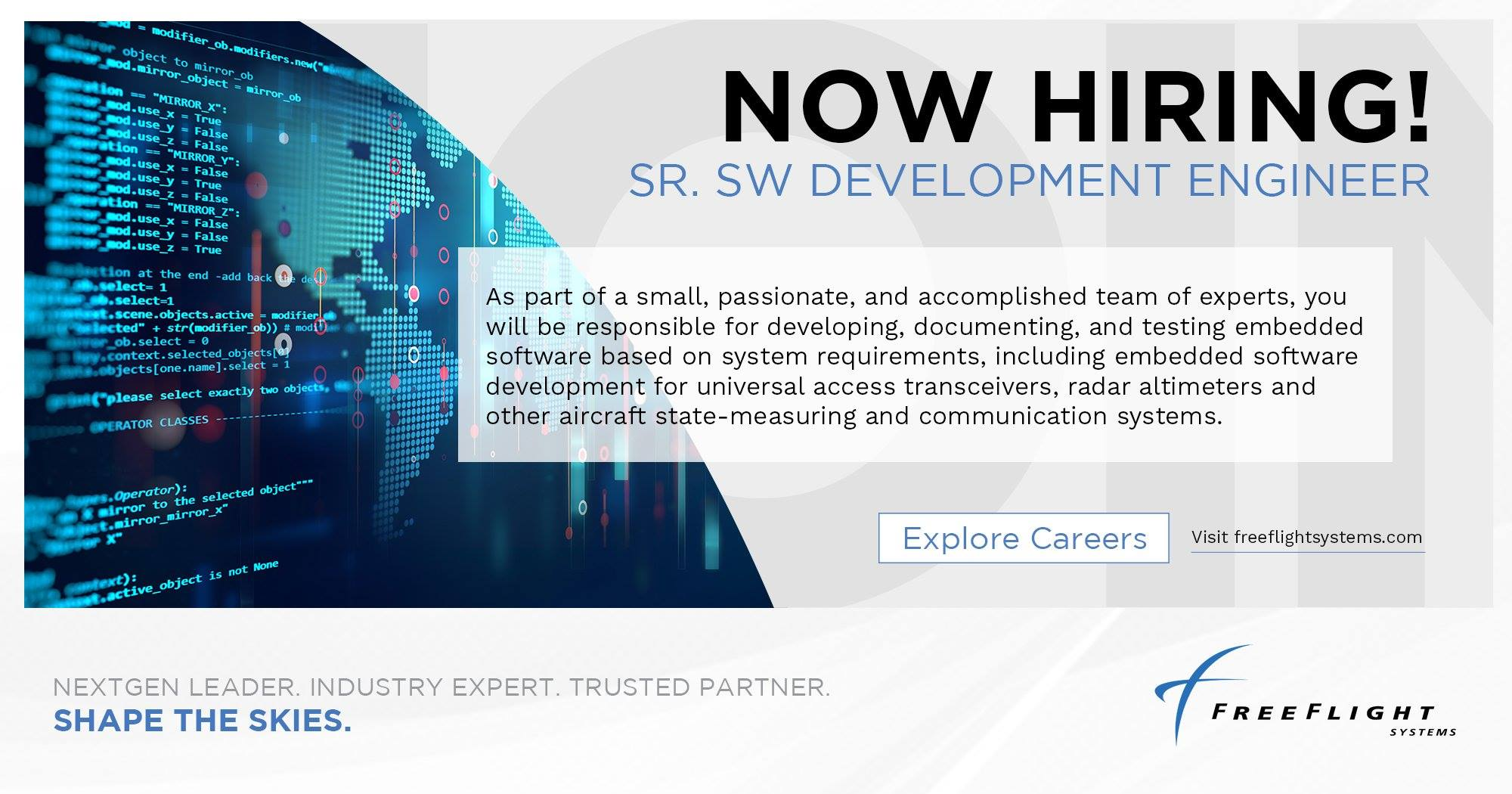 Sr. SW Development Engineer